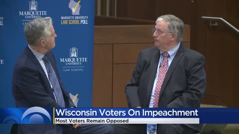 Wisconsin voters against Impeachment: MU Law Poll